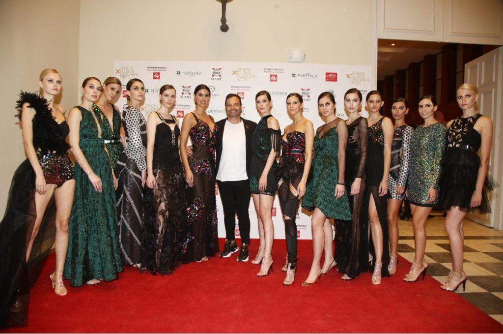 "TassosMitropoulos – Λαμπερo Fashion Show ""Τhe Metallics"" για τo  Φθινoπωρο / Χειμωνα 2020 στα πλαισια της Ελληνικης Εβδομαδας Μοδας!"