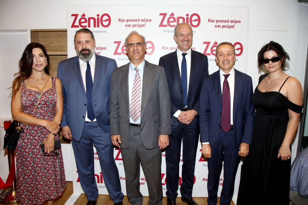 "Numerous Celebrities at the opening party of the first energy store ""ZeniΘ"" in Attica!"