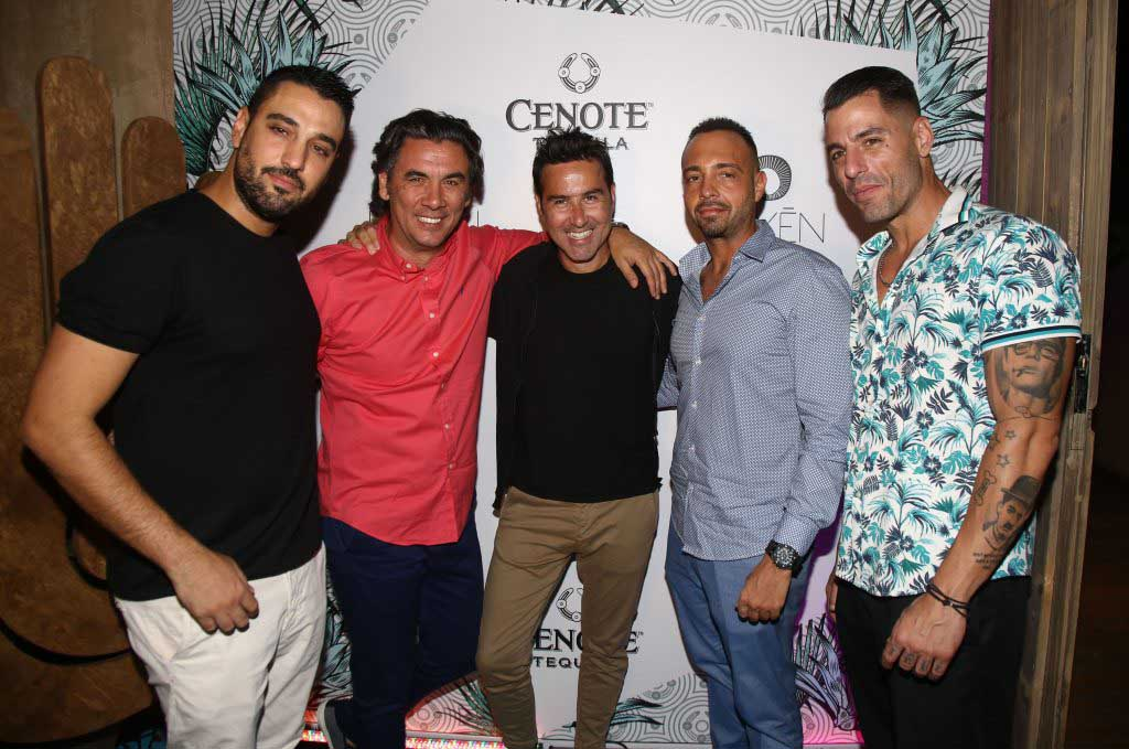 """The seaside Mexican restaurant """"Rayen"""" and the new ultra premium tequila """"Cenote"""" hosts Alexander Christopoulos in """"Mystique"""" summer party!"""