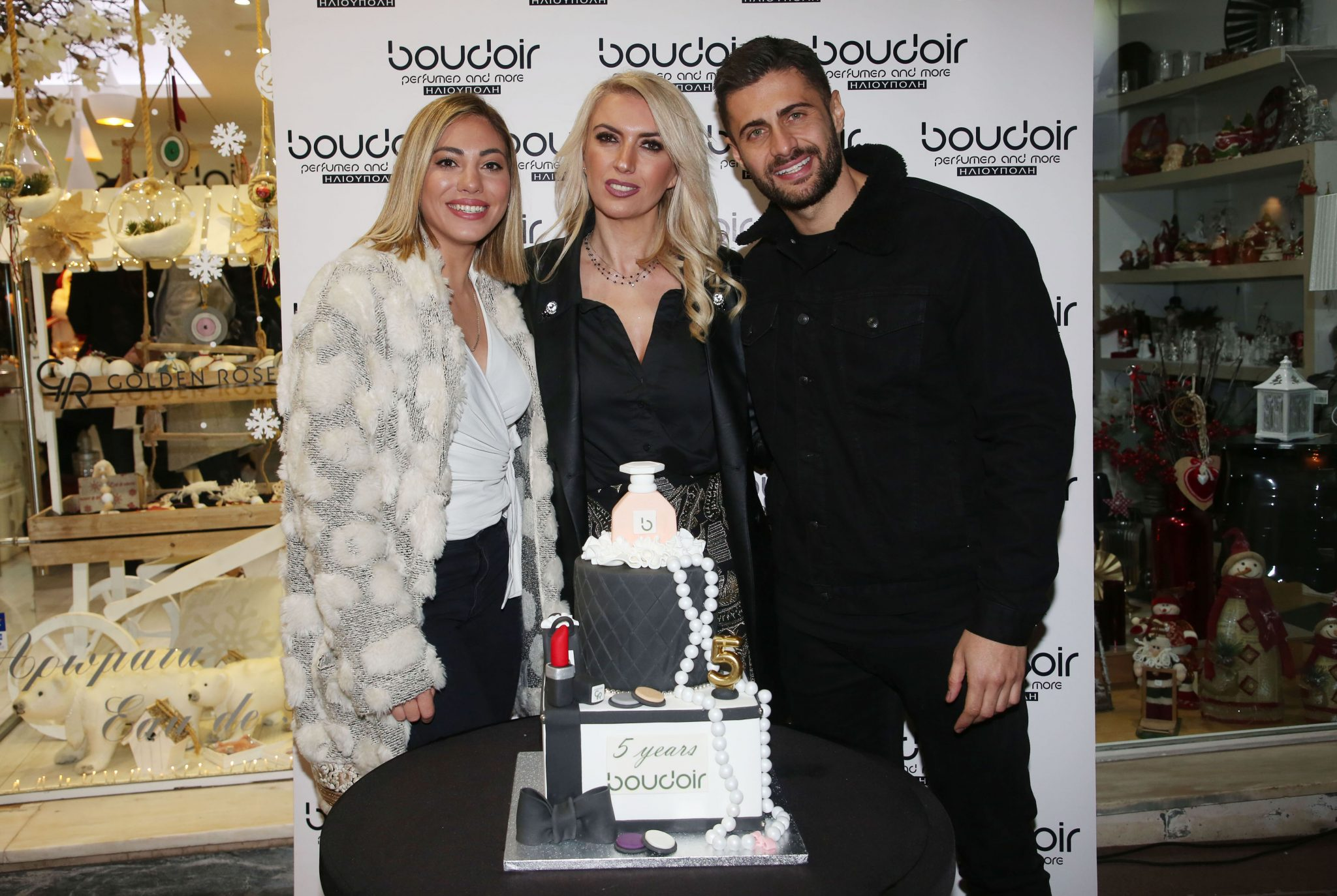 """The 5th anniversary party of """"Boudoir perfumes by Anastazia"""" in Ilioupoli was a great success!"""