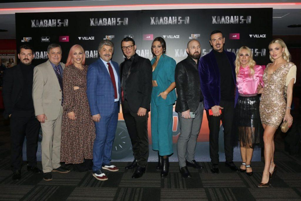"""Ήταν όλοι εκεί!!! Το αδιαχώρητο στη λαμπερή πρεμιέρα της νέας ταινίας του Μάρκου Σεφερλή """"Χαλβάη 5-0"""" που θα βγει στις αίθουσες στις 30 Ιανουαρίου"""