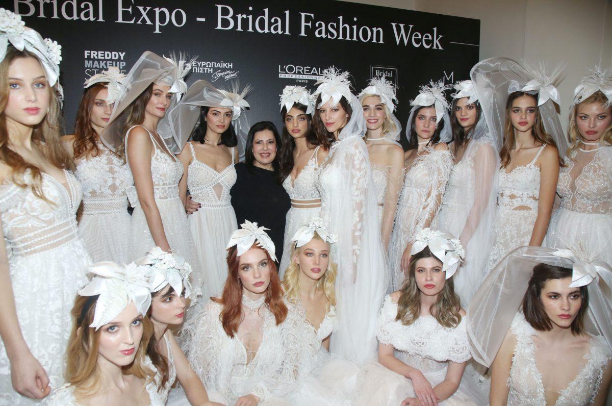 """Λαμπερό bridal show: Η νέα νυφική συλλογή της Στάλως Θεοδώρου """"4 Εποχές"""" παρουσιάστηκε στο Ζάππειο Μέγαρο"""