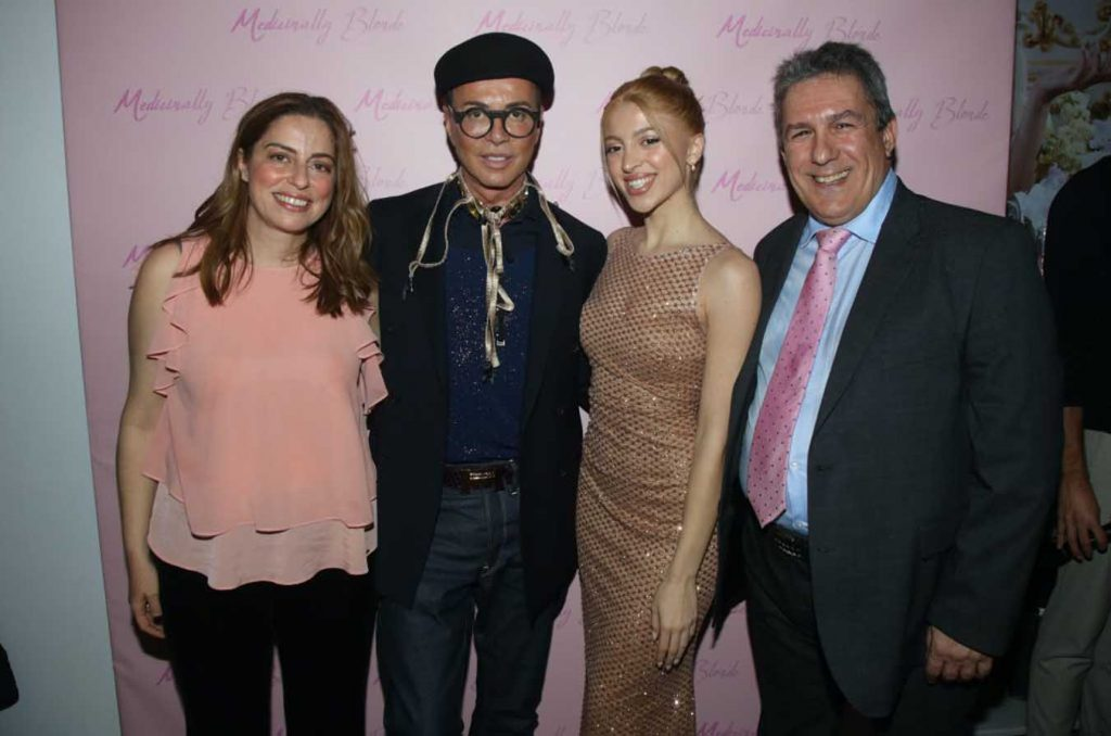 """The well-known blogger Melina Baltogianni put us in the """"world"""" of """"Medicinally Blonde"""" through a unique """"pink"""" launch party"""