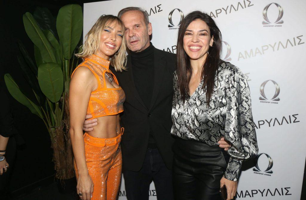 """Η Αμαρυλλίς γιόρτασε τους δύο μήνες επιτυχημένων εμφανίσεων της στο """"Omega Club"""" με ένα μοναδικό live party που ήταν όλοι εκεί!"""