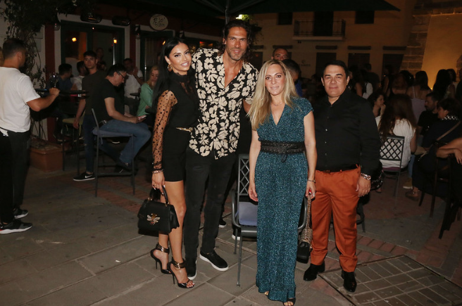 Giannis Spaliaras and Dimitra Alexandraki enjoyed the beauties of the Municipality of Preveza, invited by the well-known businessman Konstantinos Katatsis.