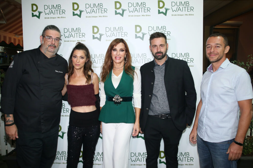 """Amazing opening at the new themed cocktail bar & food restaurant """"Dumbwaiter"""" in Glyfada!"""